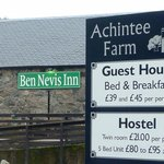 Im Ben Nevis Inn kann man nicht nur essen