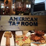 American Tap Room Collage