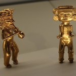 Gold figures