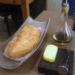 Le pain, à partager, beurre demi sel