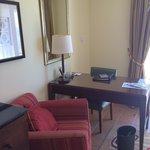 Desk area- bedroom