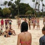 Juegos en la playa del Bávaro