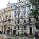 meravigliosi edifici ben restaurati