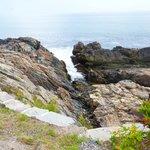 rochers de toutes formes