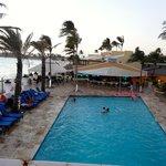 the main pool at Tamarijn & Pizza per Tutti - best lunch spot