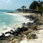 some areas of the beach at Tamarijn are very rocky