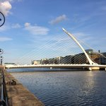 View from the north bank of the Liffey