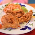 KFC style chicken wings