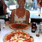 Great Pizza's and my lovely wife