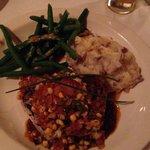 Tuna steak with a little kick! Fabulous!