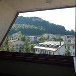 foto della stanza mansardata al 2°piano
