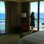 Our room in the Rainbow Tower