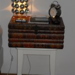 loved this book - style bedside table!