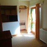Juliet balcony in second bedroom of suite, rooms 12/13