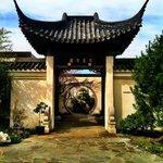 Entrance to the Bonsai Garden