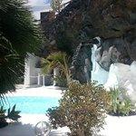 Pool in a lava bubble