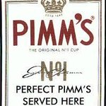Perfect Pimm's served here