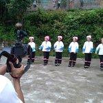 Shooting Zhuang Minority Performance