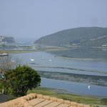 Knysna Lagoon with the Heads in the distance