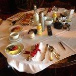 Turret breakfast