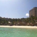 Beach/Resort view from water