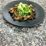 Salade de champignons du moment