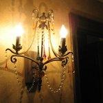 Room 107 - loved the lighting