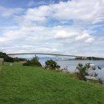 View of the Skye road bridge from Kyleakin.