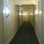 Hallway leading to our room