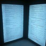 LED menu