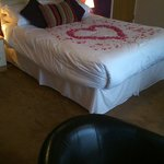 Comfy huge bed