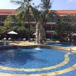 The stunning pool!