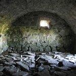 Ett av rummen man kunde gå in i som var bevarat