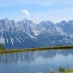Wilder Kaiser Panorama vom Hartkaiser