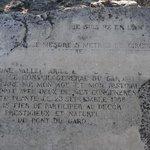 Olive tree inscription, planted 908