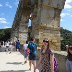 The bridge alongside the Pont du Gard