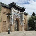 Gates of Royal Palace of Casablanca