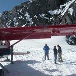Glacier landing