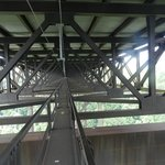 a view of the catwalk