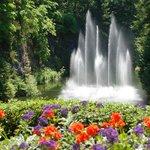 Fountain at Butchart