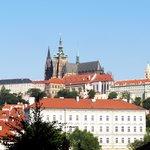 vue de la chambre du Four Seasons Prague