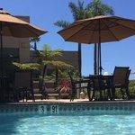 Pool area.  Nice!