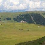 Immerso nel verde dell'Alpe di Siusi