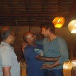 Neel and Shyam with Sanga