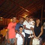 SL cricket team member at tartaruga