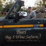 Since June 2014 you can take a Wine Safari or visit the surroundings with this special Jeep whic