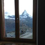 The view of the Matterhorn from our room