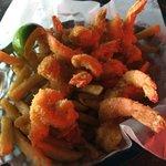 huge juicy gulf shrimp