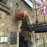 The Randolph entrance