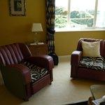 Lounge in the Jo Baker suite